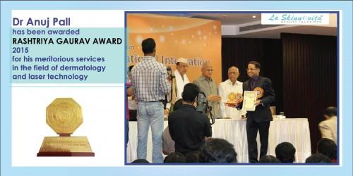 Dr Anuj Pall - Rashtriya Gaurav Award