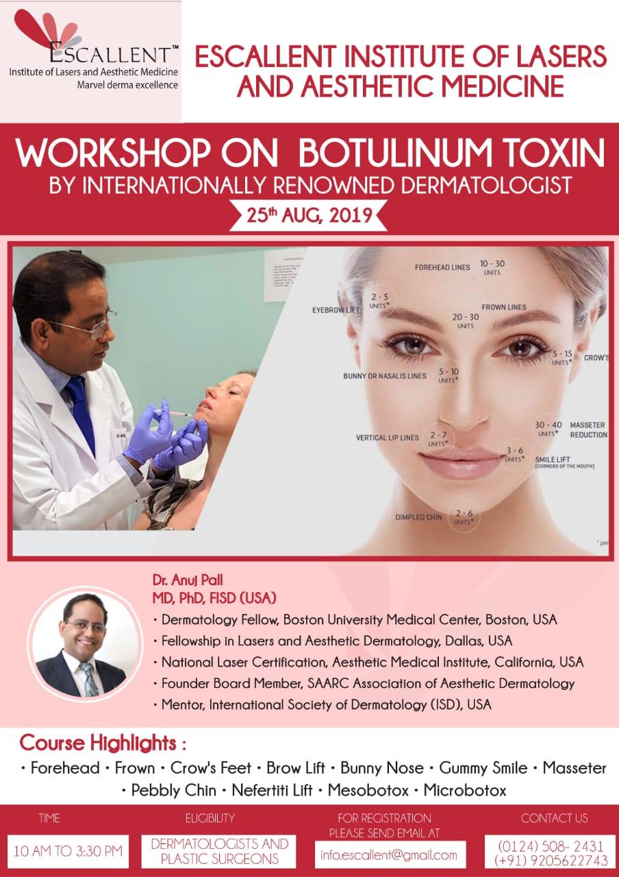 workshop on botulinum toxin